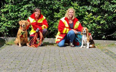 Wir gratulieren unseren Hundeführerinnen!